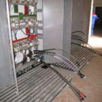 Разделка и подключение кабельных линий в ТП
