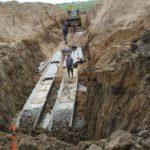 Устройство пересечения кабельной канализации под КАД