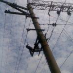 ВЛ-10 кВ на опорах контактной сети